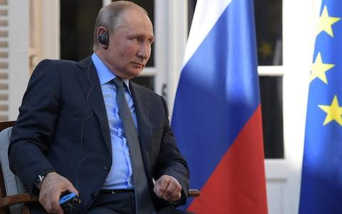 Vladimir Putin's banishment from the G7 has become a point of contention between Mr Trump and the other leaders - Credit: Alexei Druzhinin/Kremlin/REUTERS