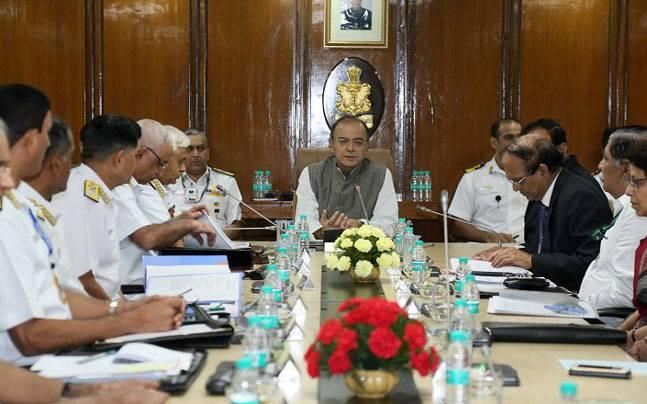 Preparedness is the best deterrent: Defence Minister Arun Jaitley at Naval Commanders' Conference