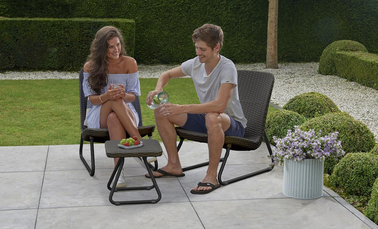 "<p>The <a rel=""nofollow"" href=""https://www.womansday.com/home/a22747254/keter-cool-bar-cooler-table-amazon/"">best patio furniture</a> has two requirements: It has to look good, and it has to be durable. Unfortunately, that combination often translates to a high price point, as it's tough to make furniture that's built to be rained or snowed on look attractive. Luckily, WalMart has some fantastic options, with a wide range of styles and furniture types. You'll be sure to find something that suits your taste for outdoor hangs, without hurting your wallet. Here are our top picks. </p>"
