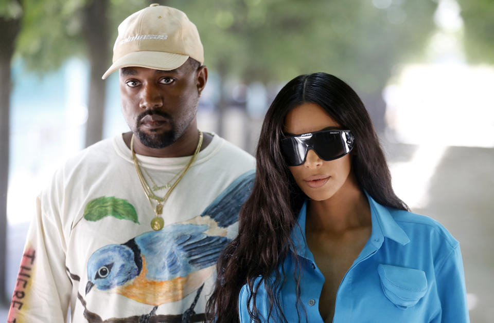 Kanye West tried scream therapy at Kim Kardashian's suggestion. (Photo: Getty Images)