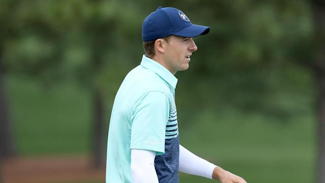 You could forgive Jordan Spieth if he took a particularly deep breath before playing the 12th hole at Augusta on Thursday.