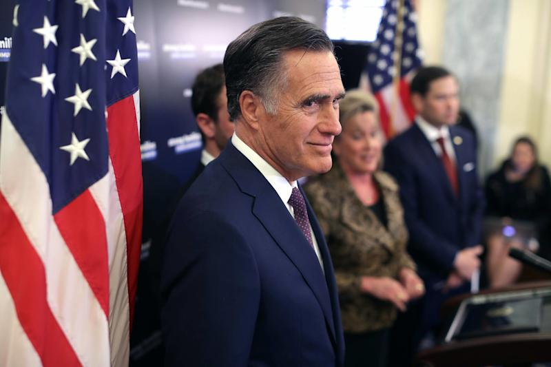Mitt Romney 'Sickened' by Trump After Reading Mueller Report
