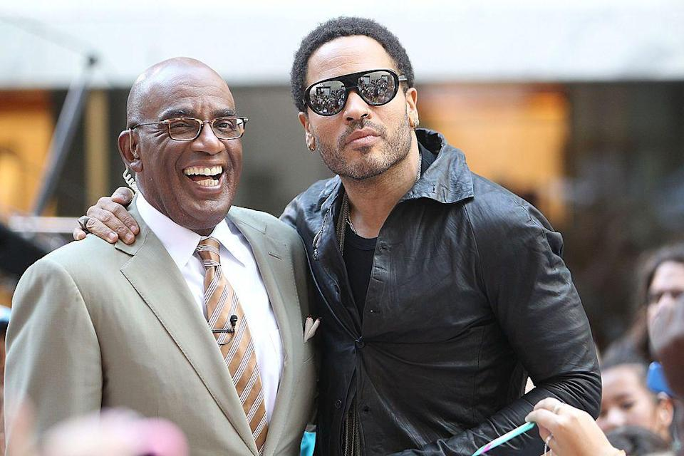 <p>Surprised? I don't blame you. Most people don't know that musician Lenny Kravitz and news anchor Al Roker are actually distant cousins. </p>