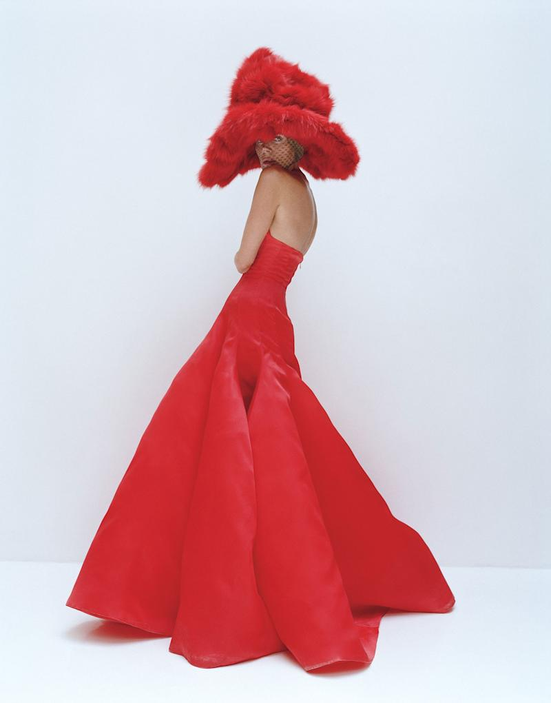 """See Red—Exclusively. """"The Originals"""" Anna Dello Russo photographed by Tim Walker; W Magazine November 2012."""
