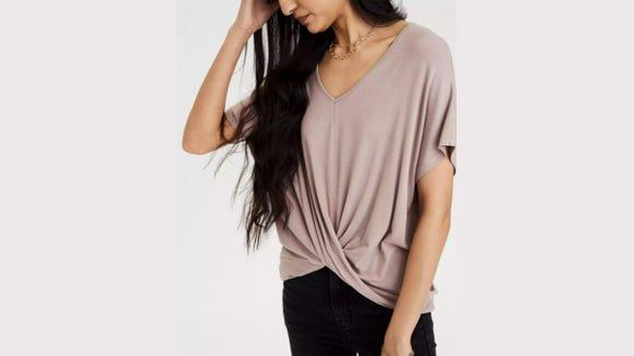 Chic and cozy, this top is ideal for working from home.