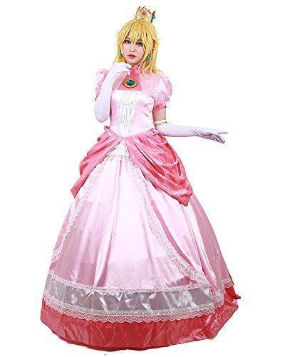 """<p><strong>miccostumes</strong></p><p>amazon.com</p><p><strong>$76.99</strong></p><p><a href=""""https://www.amazon.com/dp/B07VFHF8XP?tag=syn-yahoo-20&ascsubtag=%5Bartid%7C2140.g.37024950%5Bsrc%7Cyahoo-us"""" rel=""""nofollow noopener"""" target=""""_blank"""" data-ylk=""""slk:Shop Now"""" class=""""link rapid-noclick-resp"""">Shop Now</a></p><p>Damsels in distress no more! Get glitz in dresses featuring the dynamic videogame duo, no plumbers required (sorry Mario and Luigi!).</p><p><a class=""""link rapid-noclick-resp"""" href=""""https://www.amazon.com/Miccostumes-Womens-Princess-Cosplay-Costume/dp/B075QH7H7T/ref=sr_1_1?dchild=1&keywords=daisy+costume&qid=1626360734&sr=8-1&tag=syn-yahoo-20&ascsubtag=%5Bartid%7C2140.g.37024950%5Bsrc%7Cyahoo-us"""" rel=""""nofollow noopener"""" target=""""_blank"""" data-ylk=""""slk:Shop Daisy costume"""">Shop Daisy costume</a></p>"""