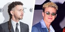 """<p>Celebrities aren't immune to bad haircuts—especially given the pressure they feel to make an impression on the red carpet. But some hairstyles are better than others. From the outrageous styles of the '70s to the cringe-worthy """"butt cuts"""" of the '90s, some of the most famous men in the world have gone through some terrible hair phases—and here's proof. <br></p>"""
