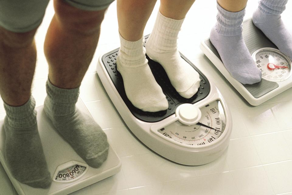 To step on the scales or not to step on the scales? [Photo: Getty]