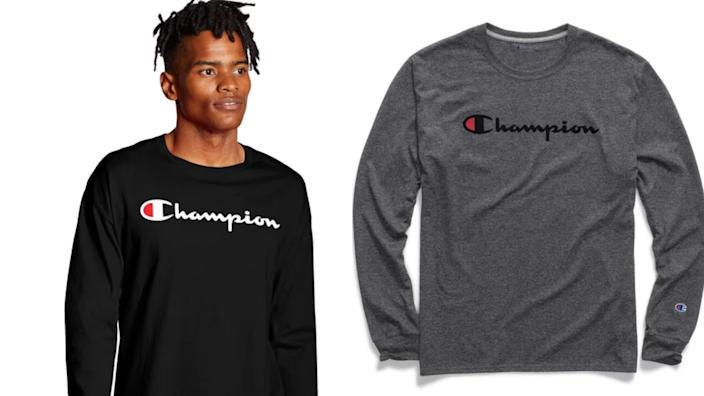 Best gifts for teen boys: Champion t-shirt