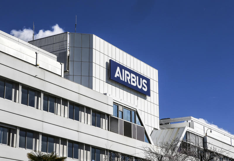 FILE - This March 6, 2018 file photo shows a logo of Airbus group is displayed in front of its headquarters in Toulouse, western France. The World Trade Organization says the United States can impose tariffs on up to $7.5 billion worth of goods from the European Union as retaliation for illegal subsidies to European plane-maker Airbus — a record award from the trade body. (AP Photo/Fred Scheiber, File)