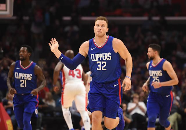 The Los Angeles Clippers traded Blake Griffin to the Detroit Pistons on Monday. (Getty)