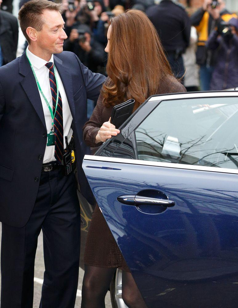 Kate Middleton in January 2015