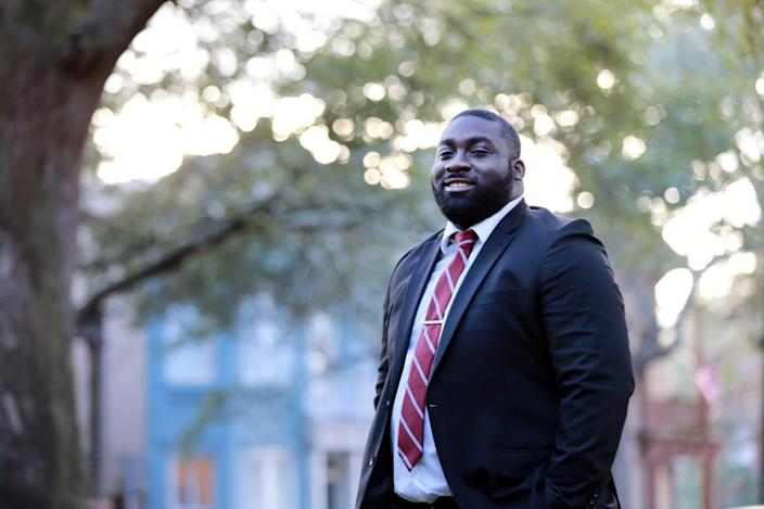 Raydell Martin has sometimes been told to make deliveries in unsafe neighborhoods that his white colleagues weren't asked to go to.