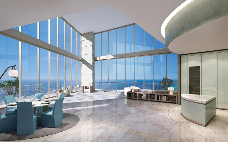 Residences by Armani/Casa on Sunny Isles Beach start from US$3.1m through Sphere Estates.