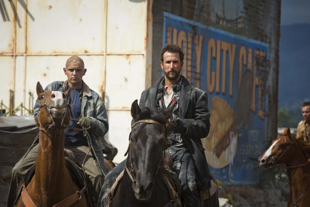 "Noah Wyle in the ""Falling Skies"" Season 3 Premiere, ""On Thin Ice."""