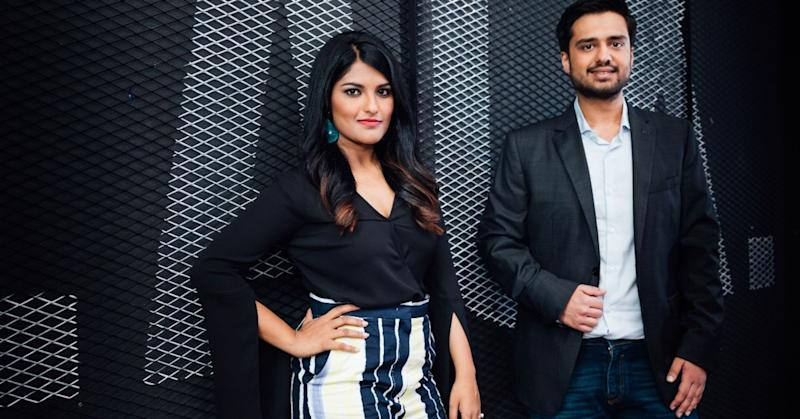 Ankiti Bose, CEO of Zilingo and co-founder and chief technology officer Dhruv Kapoor.