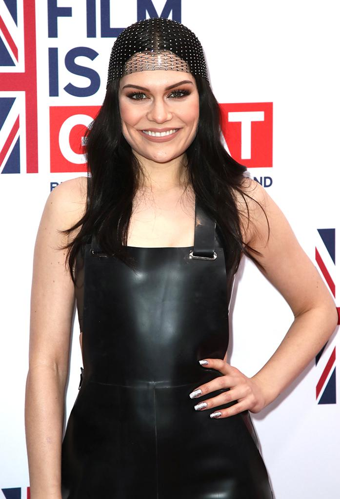 Jessie J at a reception to honor British nominees in the 89th Academy Awards