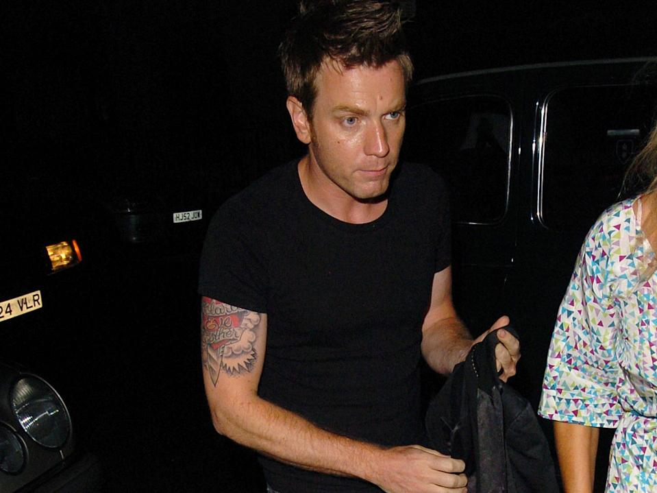 Ewan McGregor Tattoos