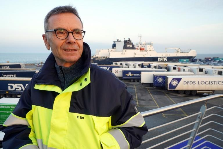 Cuxhaven port manager Hans-Peter Zint says a lot of preparations were made for Britain's exit from the EU single market