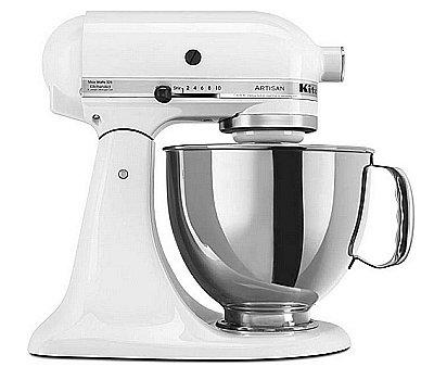 Stand Mixer with stainless steel bowl with large handle