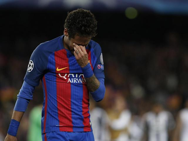 Neymar will not appear in the clasico against Real Madrid (Getty)