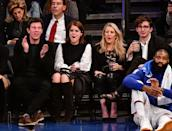 """<p>The""""Love Me Like You Do"""" singer was spotted courtside with Eugenie at a Brooklyn Nets game last October. Goulding also gave a performance at Will and Kate's 2011 wedding, which leaves us wondering if she might sing at Eugenie's as well.</p>"""