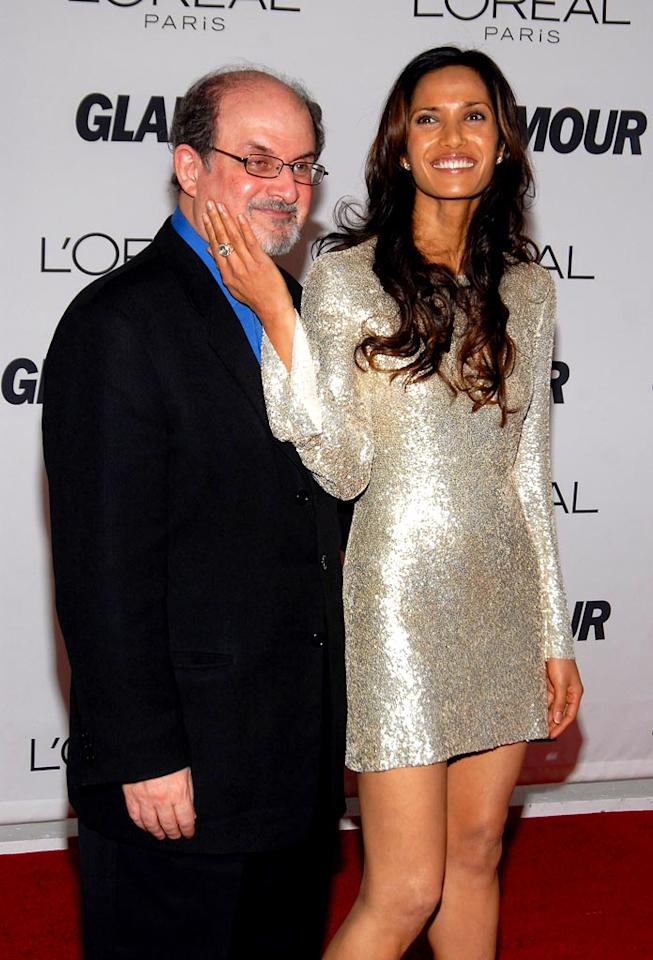 "Everyone was surprised when model Padma Lakshmi married novelist Salman Rushdie, who is 23 years her senior. Unfortunately, their May-to-December romance did not last. After soaring to reality TV fame as host of Bravo's ""Top Chef,"" Padma told hubby of three years to pack up his knives and go. Dimitrios Kambouris/<a href=""http://www.wireimage.com"" target=""new"">WireImage.com</a> - October 30, 2006"