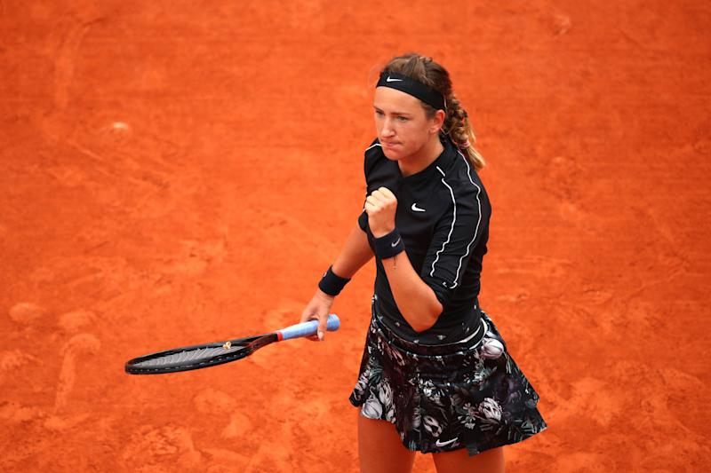 French Open 2019: Naomi Osaka recovers to power past Victoria Azarenka