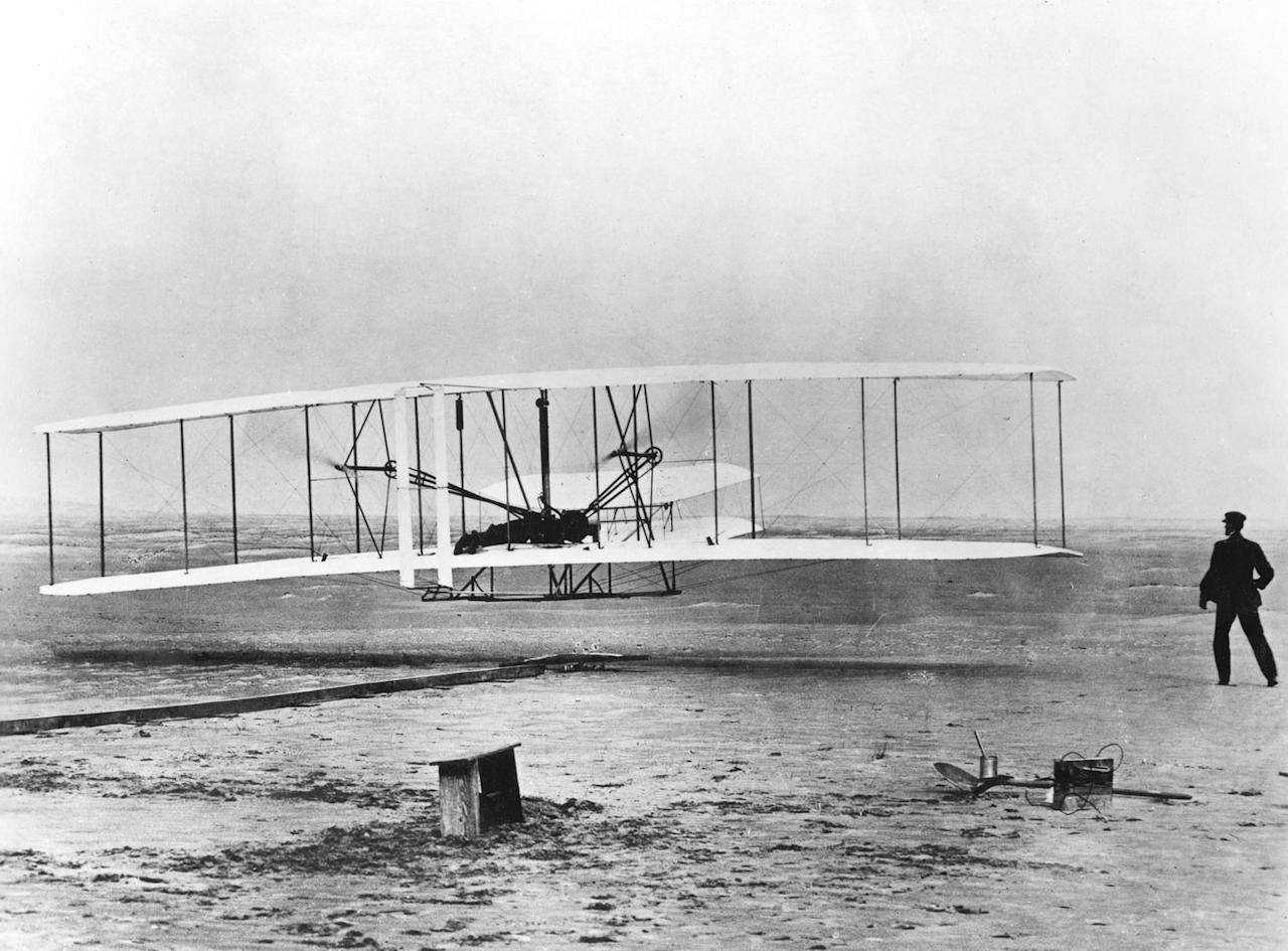 <p>When Orville and Wilbur Wright took their historic flight in Kittyhawk, North Carolina, it changed the world and modern aviation forever. This image is often used in the context of technological achievements in the 20th century, but it also represents how an idea can be put into action with the right balance of hard work and determination.</p>