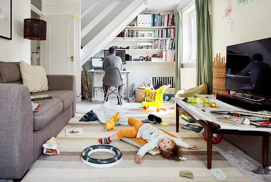 Working From Home by Rosangela Borgese. (Kensington Palace)