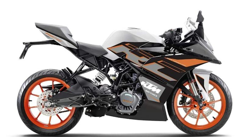 KTM RC 125 motorbike gets new color option in India