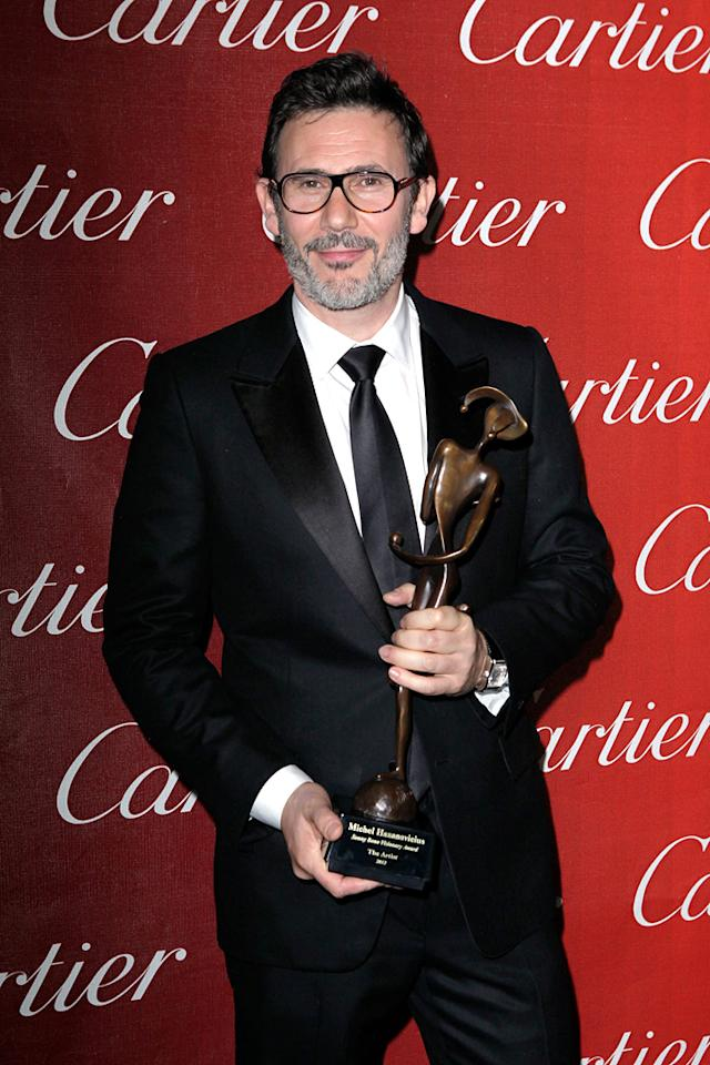 """<a href=""""http://movies.yahoo.com/movie/contributor/1808495302"""">Michel Hazanavicius</a> attends the 23rd Annual Palm Springs Film Festival awards gala on January 7,2012."""