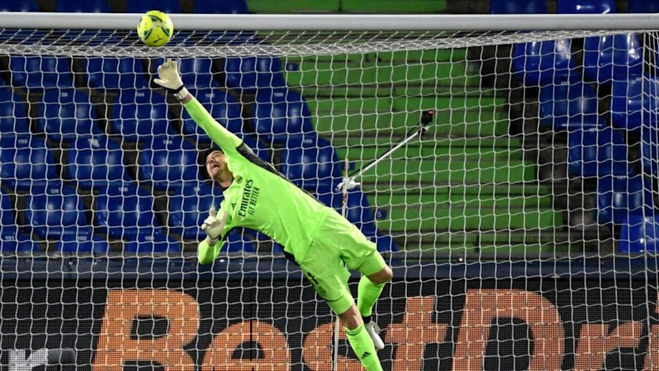 Courtois fue el mejor del Real Madrid | PIERRE-PHILIPPE MARCOU/Getty Images