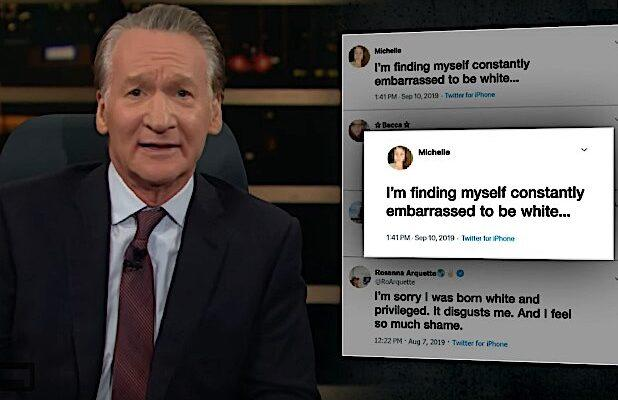 Bill Maher Has a Solution to End White Liberals' Self-Loathing: 'Let's Tax Whiteness' (Video)