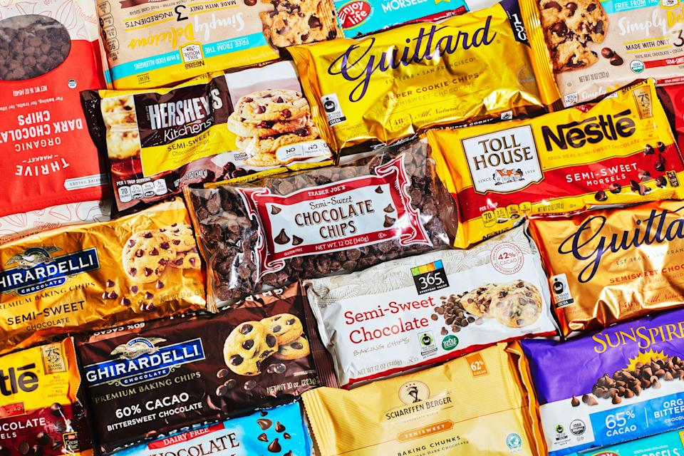 Lots of options in the chocolate chip department.
