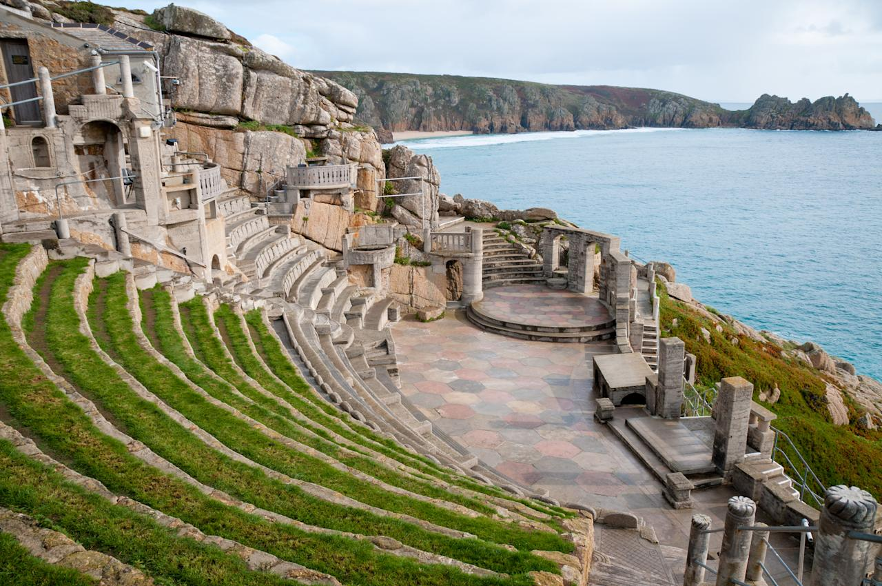 This one-of-a-kind theatre is carved into a rocky cliff in Porthcurno, Cornwall. Productions include everything from King Lear to The Wizard of Oz. [Photo: Getty]