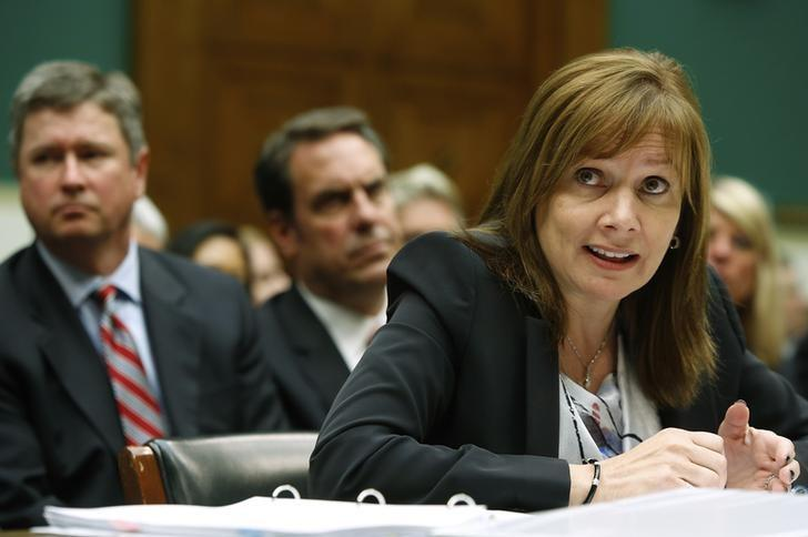 GM CEO Barra testifies before House Energy and Commerce Oversight and Investigations Subcommittee hearing on Capitol Hill