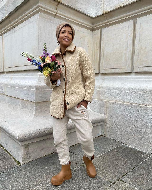 """<p>Wellies have been given a chic makeover, and have become investment items to be worn everywhere from the streets of Paris to the muddy hills of England. </p><p><a class=""""link rapid-noclick-resp"""" href=""""https://go.redirectingat.com?id=127X1599956&url=https%3A%2F%2Fwww.matchesfashion.com%2Fproducts%2FGanni-Chunky-recycled-rubber-knee-high-boots-1354421&sref=https%3A%2F%2Fwww.elle.com%2Fuk%2Ffashion%2Fg29844296%2Fcasual-clothes%2F"""" rel=""""nofollow noopener"""" target=""""_blank"""" data-ylk=""""slk:SHOP NOW"""">SHOP NOW</a></p><p><a href=""""https://www.instagram.com/p/CJrEgS7hZAG/"""" rel=""""nofollow noopener"""" target=""""_blank"""" data-ylk=""""slk:See the original post on Instagram"""" class=""""link rapid-noclick-resp"""">See the original post on Instagram</a></p>"""
