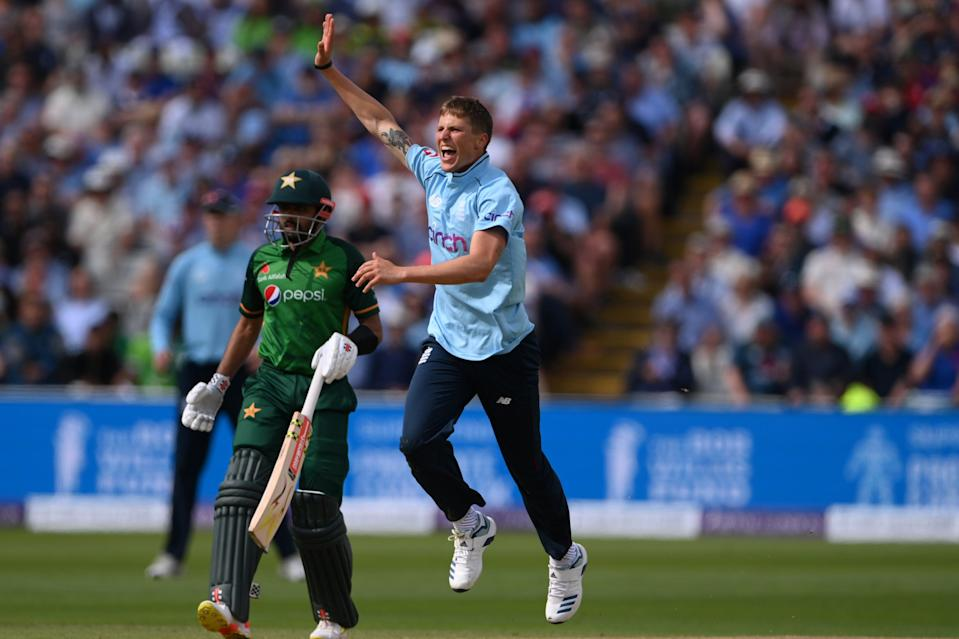 Brydon Carse did his reputation no harm against Pakistan (Getty Images)