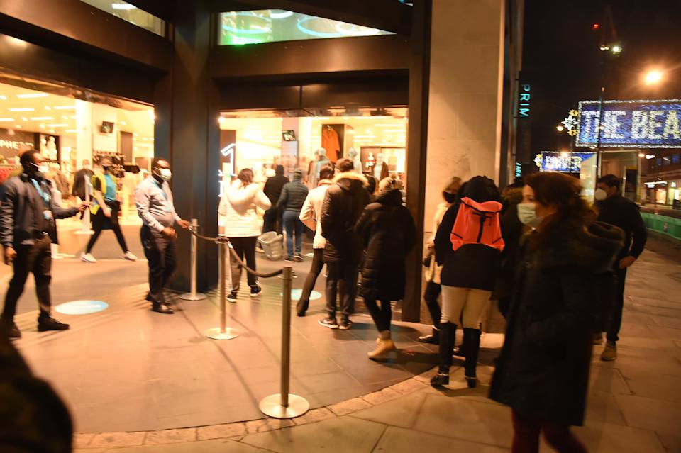 <p>Shoppers woke up bright and early on Wednesday morning to queue outside Primark</p>Jeremy Selwyn
