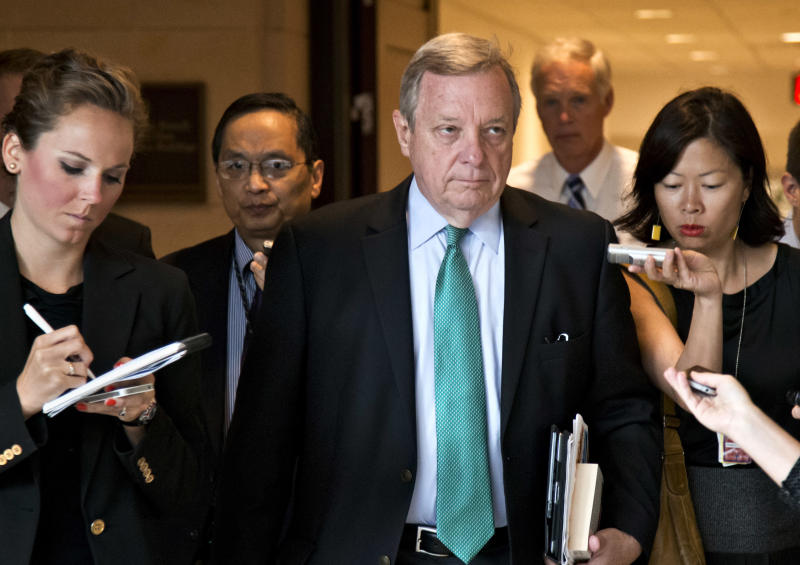 Durbin removes post after White House miscue