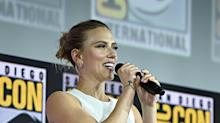 Comic-Con: Why Scarlett Johansson feels it's 'the right time' for solo 'Black Widow' film
