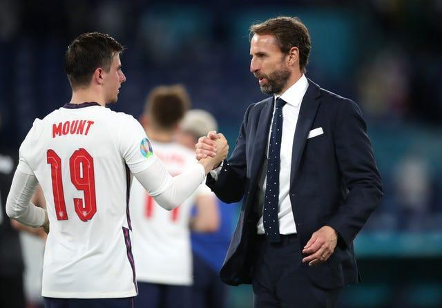 Gareth Southgate was pleased with Mason Mount's display against Ukraine