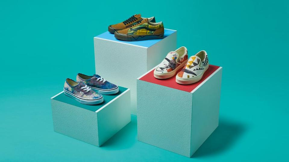 Vans MoMA collaboration Nordstrom