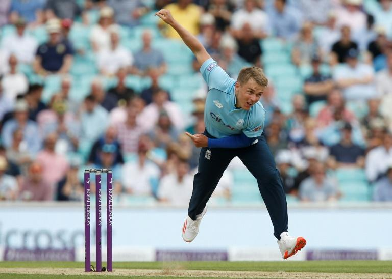 Sam Curran led England's attack with 5-48