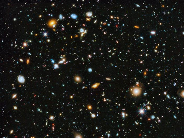 hubble extreme ultra deep field infrared uv deepest patch night sky nasa stsci
