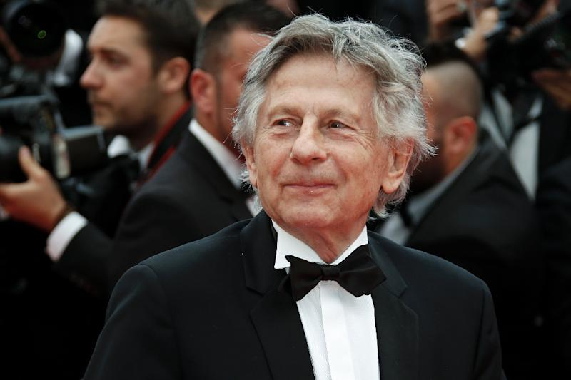 French director Roman Polanski at the 67th edition of the Cannes Film Festival in 2014