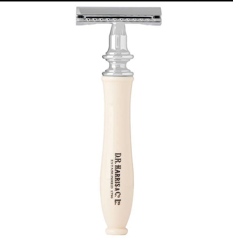 """<p><strong>Three-Piece Safety Razor</strong></p><p>mrporter.com</p><p><strong>$96.00</strong></p><p><a href=""""https://go.redirectingat.com?id=74968X1596630&url=https%3A%2F%2Fwww.mrporter.com%2Fen-us%2Fmens%2Fd_r_harris%2Fthree-piece-safety-razor%2F603001&sref=https%3A%2F%2Fwww.esquire.com%2Fstyle%2Fgrooming%2Fg27288330%2Fbest-razor-for-face%2F"""" rel=""""nofollow noopener"""" target=""""_blank"""" data-ylk=""""slk:SHOP"""" class=""""link rapid-noclick-resp"""">SHOP</a></p><p>If you're looking to invest in an old-school style from an old-school brand, it doesn't get much more legit than D R Harris, which has been in business since 1790.</p>"""