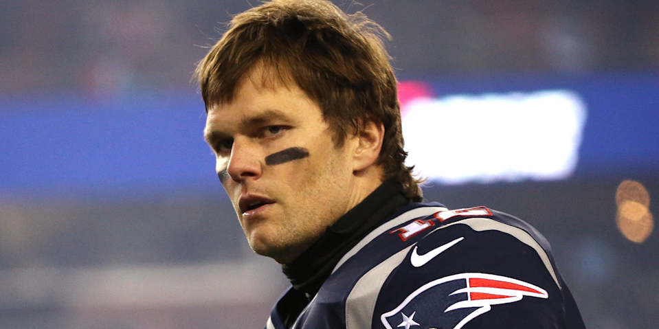 Don't go talking bad about Tom Brady's daughter. (AP)