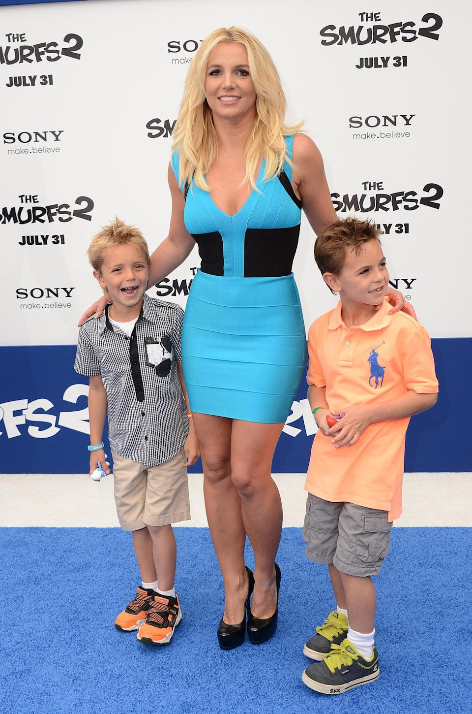 Britney Spears, Sean Federline, Jayden James Federline (Jordan Strauss/Invision/AP)